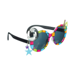 Fun Shades Disco 70's Tinted - 6 PKG