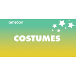 Costumes Point of Sale 2ft/61cm x 1ft/30cm - 1 PC