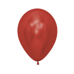"Reflex Crystal Red 915 Latex Balloons 5""/13cm -  50 PC"