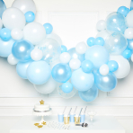 Blue DIY Garland Balloon Kits - 4 PKG/70