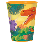 Prehistoric Party Plastic Favour Cups 473ml - 12 PC