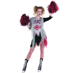Adults Cheerless Zombie Costume - Size 18-20 - 1 PC
