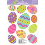 Easter Glitter Vinyl Window Stickers 24 PKG
