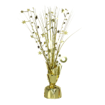 Gold Spray Centrepiece Balloon Weights 30cm/150g - 6 PC