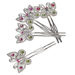 Bulk Packed Butterfly Hair Pins - 152 PC