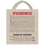 Evidence Canvas Treat Bag 34cm x 35cm - 6 PC