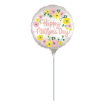 Happy Mother's Day Spring Floral Satin Luxe Mini Balloons A15 - 5 PC
