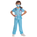 Doctor Sustainable Costume - Age 6-8 Years - 1 PC