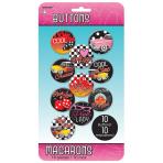 50s Classic Badges/Buttons - 12 PKG/10