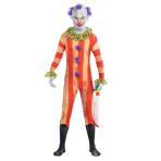 Adults Clown Party Suit Costume - Size M - 1 PC