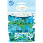 Welcome Baby Boy 3 Pack Value Confetti 34g - 12 PKG