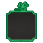Large Shamrock Standing MDF Signs 17.8cm x 22.8cm - 6 PC