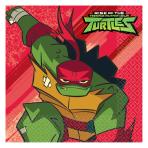 Rise of the Teenage Mutant Ninja Turtles Luncheon Napkins 33cm - 6 PKG/16