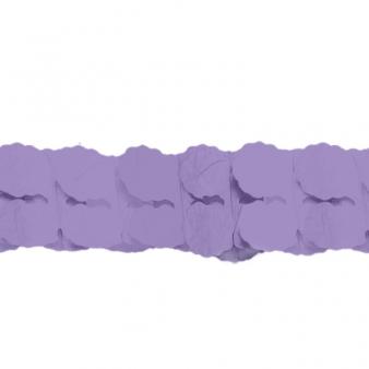 Purple Paper Garlands 3.65m - 12 PC