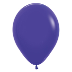"Fashion Colour Solid Violet 051 Latex Balloons 12""/30cm - 25 PC"