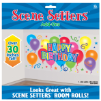 General Birthday Scene Setters -12 PC