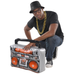 Hip Hop Inflatable Boomboxes - 3 PC