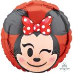 Minnie Mouse Emoji Standard HX Foil Balloons S40 - 5 PC