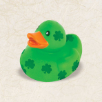 St. Patrick's Day Rubber Ducks - 24 PC