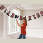 Little Lumberjack Jumbo Add-an-Age Letter Banners 3m - 6 PC