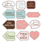 Bridal Shower Fun Photo Signs - 6 PKG/12