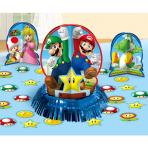Super Mario Table Decorating Kits - 6 PKG/4