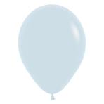 "Fashion Colour Solid White 005 Latex Balloons 15""/40cm - 50 PC"