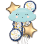 Twinkle Little Star Satin Foil Balloon Bouquets P75 - 3 PC