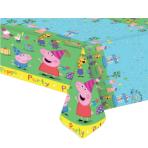 Peppa Pig Plastic Tablecovers 1.38m x 1.83m - 12 PC