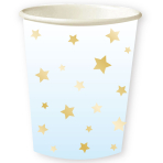 1st Birthday Blue  Cups 250ml - 6 PKG/8