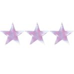 Iridescent Foil Mini Cutout Stars 12.7cm - 8 PKG/5