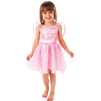 Children Pink Fairy Costume - Age 1-3 Years - 1 PC