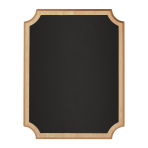 Small Easel Chalkboard MDF Sign 18cm x 23cm x 2cm - 6 PC