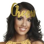 Cheers Glitter Headbands 12cm - 1 PKG/9