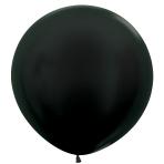 "Metallic Solid Graphite 578 Latex Balloons 36""/91.5cm - 2 PC"