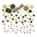 Gold Sequin Foil & Paper Confetti 34g - 12 PC