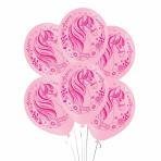 "Magical Unicorn Latex Balloons 11""/25cm - 10 PKG/6"