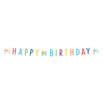 Confetti Birthday 80th Birthday Letter Banners 1.8m - 10 PC