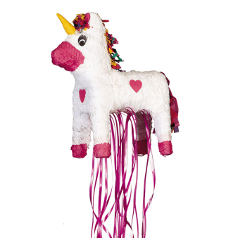 Unicorn Pull Pinatas - 4 PC