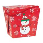 Snowman Paper Quart Pails - 12 PC