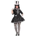 Dark Mad Hatter Costume - Plus Size 18-20 - 1 PC