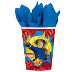 Fireman Sam Paper Cups 266ml - 10 PKG/8