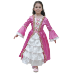 Historical Marie Antoinette Costume - Age 3-5 Years - 1 PC