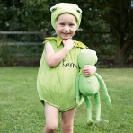 Disney The Muppets Kermit Tabard with Feature Hat - Age 3-6 Months - 1 PC