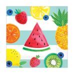 Fruit Salad Beverage Napkins 25cm - 12 PKG/16