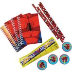 Spider-Man Stationery Packs - 6 PKG/20