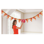 Pizza Party Jumbo Add-an-Age Banners 3m - 6 PC