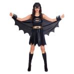Batgirl Classic Costume - Size 8-10 - 1 PC