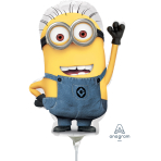 Despicable Me Minions Mini Shape Foil Balloons  - A30 10 PC