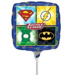 Justice League Foil Mini Balloon A20 - 10 PC